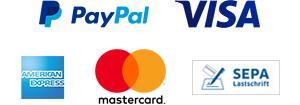 Kreditkarte Visa und Mastercard